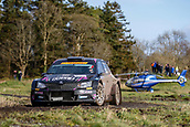 10th February 2019, Galway, Ireland; Galway International Rally; Desi Henry and Liam Moynihan (Skoda Fabia R5) finish in 5th place overall