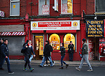 The Hillsborough Justice Campaign shop front during the Premier League match at Anfield Stadium, Liverpool. Picture date December 27th, 2016 Pic David Klein/Sportimage