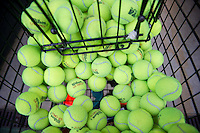 Tennis balls for the 2010 Stanford women's Tennis Team.