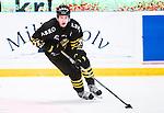Stockholm 2014-09-27 Ishockey Hockeyallsvenskan AIK - Mora IK :  <br /> AIK:s Jacob Sp&aring;ngberg i aktion <br /> (Foto: Kenta J&ouml;nsson) Nyckelord:  AIK Gnaget Hockeyallsvenskan Allsvenskan Hovet Johanneshovs Isstadion Mora MIK portr&auml;tt portrait