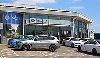 Car dealers showrooms can re-open in England tomorrow, 1st June, if they are COVID safe, following the Government's easing of restrictions to kickstart the economy. May 31st 2020<br /> <br /> Photo by Keith Mayhew