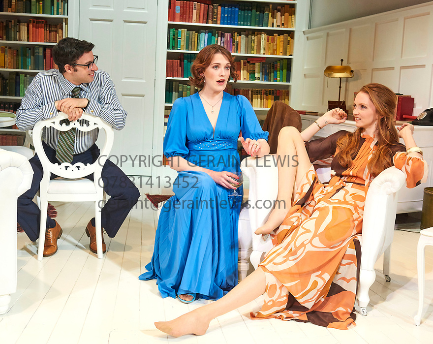 The Philanthropist by Christopher Hampton, directed by Simon Callow. With Simon Bird as Philip,  Charlotte Ritchie as Celia, Lily Cole as Araminta,Opens at The Trafalgar Studios Theatre on 14/3/18