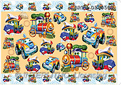 Alfredo, DECOUPAGE, paintings, cars, ships(BRTOD1495CP,#DP#) illustrations, pinturas