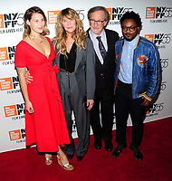 NEW YORK, NY - October 5 : Destry Allyn Spielberg, Kate Capshaw, Steven Spielberg and Theo Spielberg attends 55th New York Film Festival screening of 'Spielberg' at Alice Tully Hall on October 5, 2017 in New York City. <br /> CAP/MPI/JP<br /> &copy;JP/MPI/Capital Pictures