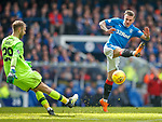 11.3.2018 Rangers v Celtic:<br /> Scott Bain and Jason Cummings