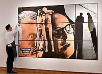 Gilbert &amp; George, Shadow Blind, Estimate &pound;70,000 - 100,000 at Christie&rsquo;s exhibition of art from the collection of the late George Michael, featuring works by Damien Hirst, Tracey Emin and Marc Quinn, from its upcoming The George Michael Collection Evening and Online Auctions, on view to the public from 9-15 March 2019. <br /> CAP/JOR<br /> &copy;JOR/Capital Pictures
