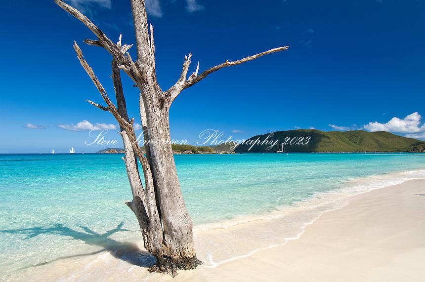 Cinnamon Bay.<br /> Virgin Islands National Park<br /> St John, US Virgin Islands