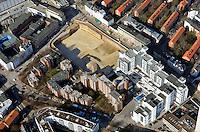 Hamburg Altona Ikea: EUROPA, DEUTSCHLAND, HAMBURG, (EUROPE, GERMANY), 20.02.2012: Baugrube des neuen IKEA Gebaeudes in Hamburg Altona....