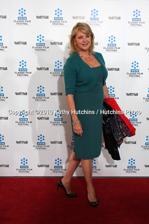 """.Suzanne Lloyd.arrives at the """"A Star is Born"""" Restored Print World Premiere , part of the Turner Classic Movie Channel Classic Movie Festival.Grauman'S Chinese.Los Angeles, CA.April 22, 2010.©2010 Kathy Hutchins / Hutchins Photo..."""