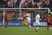 Dejection Robin Olsen Roma after goal Piatek Genoa.<br /> Roma 16-12-2018 Stadio Olimpico<br /> Football Calcio Campionato Serie A<br /> 2018/2019 <br /> AS Roma - Genoa<br /> Foto Antonietta Baldassarre / Insidefoto