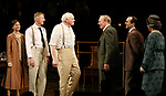 Brian Dennehy & Christopher Plummer with cast members Maggie Lacey, Byron Jennings, Denis O'Hare & Beth Fowler<br />during the Opening Night Curtain Call for INHERIT THE WIND at Bryant Park Grill in New York City.<br />April 12, 2007