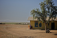 The compound of the Cluster resource Center of Lafaissa, Somali Region, Ethiopia on Monday November 9 2009. .The Lafaissa facility is supported by the British non governmental organization Save the Children UK..