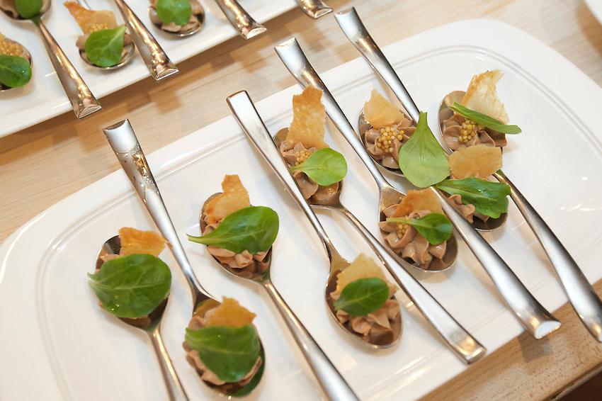 New York, NY - JANUARY 28, 2016: Chef Alan Heckman of the Stockton Inn at the James Beard House.<br /> <br /> CREDIT: Clay Williams for the James Beard Foundation<br /> <br /> &copy; Clay Williams / claywilliamsphoto.com