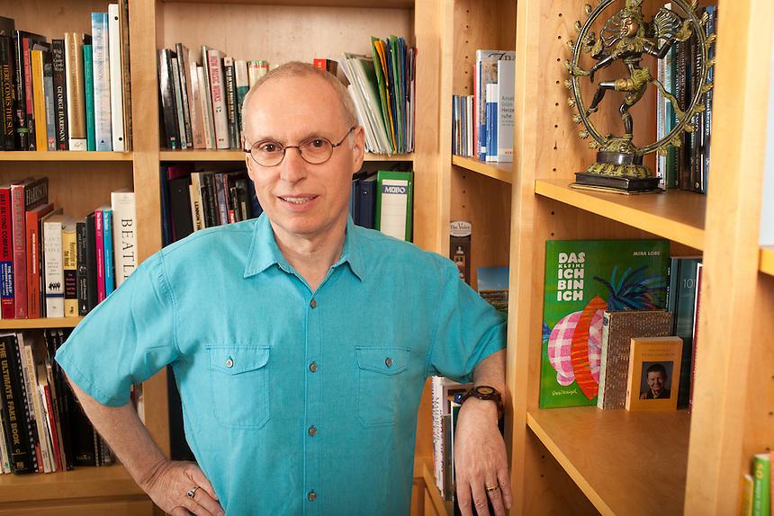 Professor Eifert photographed at his home near Port Angeles, Washington, USA on Wednesday, November 25, 2015.<br /> (Matt Mills McKnight/Getty Images for FOCUS)