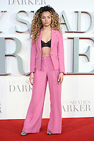 "Ella Eyre<br /> at the ""Fifty Shades Darker"" premiere, Odeon Leicester Square, London.<br /> <br /> <br /> ©Ash Knotek  D3223  09/02/2017"