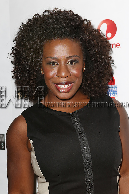 """Uzo Aduba attends the """"Broadway Backwards"""" After Party Reception  at John's Restaurant on March 24, 2014 in New York City."""