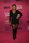"Actress and Recording Artist Jennifer Hudson Wearing a Balmain Long Sleeve V-Neck Dress and Rockin the Christian Louboutin Mado Knee-High Lace-Up Boots Attends ""BLACK GIRLS ROCK!"" Honoring legendary singer Patti Labelle (Living Legend Award), hip-hop pioneer Queen Latifah (Rock Star Award), esteemed writer and producer Mara Brock Akil (Shot Caller Award), tennis icon and entrepreneur Venus Williams (Star Power Award celebrated by Chevy), community organizer Ameena Matthews (Community Activist Award), ground-breaking ballet dancer Misty Copeland (Young, Gifted & Black Award), and children's rights activist Marian Wright Edelman (Social Humanitarian Award) Hosted By Tracee Ellis Ross and Regina King Held at NJ PAC, NJ"
