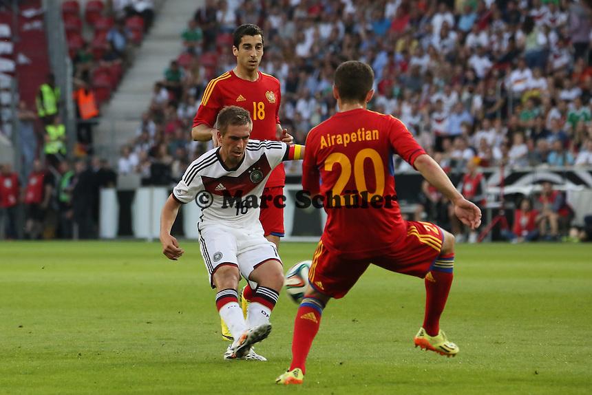 Philipp Lahm (D) zieht ab - Deutschland vs. Armenien in Mainz