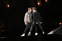 Ryan O'Shaughnessy (Ireland)<br /> Eurovision Song Contest Grand Final dress rehearsal, Lisbon, Portugal on May 11 2018.<br /> CAP/PER<br /> &copy;PER/CapitalPictures