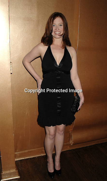 Melissa Archer..at The One Life to Live Christmas Party on December 11, 2006 at Venue in New York, ..Robin Platzer, Twin Images