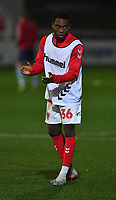 Fleetwood Town's Jay Matete<br /> <br /> Photographer Dave Howarth/CameraSport<br /> <br /> Leasing.com Trophy Northern Section Round Three - Fleetwood Town v Accrington Stanley - Tuesday 7th January 2020 - Highbury Stadium - Fleetwood<br />  <br /> World Copyright © 2018 CameraSport. All rights reserved. 43 Linden Ave. Countesthorpe. Leicester. England. LE8 5PG - Tel: +44 (0) 116 277 4147 - admin@camerasport.com - www.camerasport.com