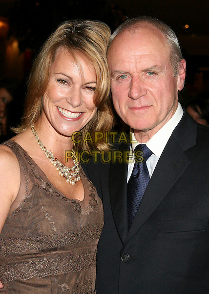 TRACEY & ALAN DALE.The 8th Annual Family Television Awards at the Beverly Hilton Hotel, Beverly Hills, California, USA..November 29th, 2006.headshot portrait brown black necklace.CAP/ADM/BP.©Byron Purvis/AdMedia/Capital Pictures