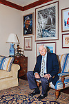 Ted Turner poses for a portrait in his building in downtown Atlanta October 29, 2013.