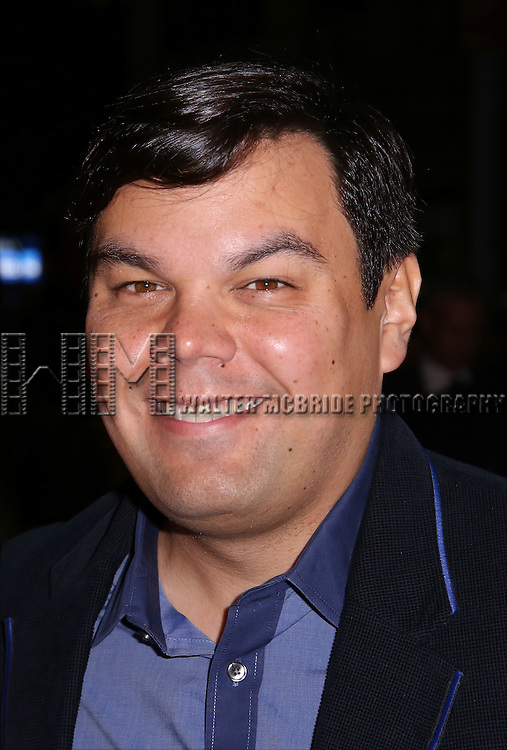 Bobby Lopez attends 'The Robber Bridegroom' Off-Broadway Opening Night performance at Laura Pels Theatre on March 13, 2016 in New York City.