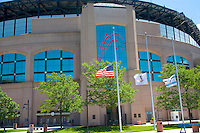 Home of the White Sox Baseball Team U.S. Cellular Field located in South Chicago.  Chicago Illinois USA