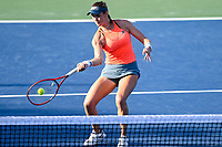 Washington, DC - August 3, 2019: Maria Sanchez (USA) returns the ball during the WTA Woman's Doubles Championship at Rock Creek Tennis Center, in Washington D.C. (Photo by Philip Peters/Media Images International)