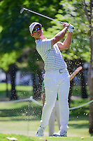 Paul Casey (ENG) watches his tee shot on 7 during round 2 of the World Golf Championships, Mexico, Club De Golf Chapultepec, Mexico City, Mexico. 3/3/2017.<br />