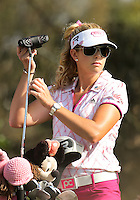 23 MAR 13 Californian Paula Creamer during Saturdays Third Round at The KIA Classic at Aviara Golf Club in Carlsbad, California. (photo:  kenneth e.dennis / kendennisphoto.com) www.golffile.ie