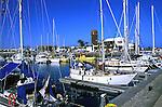 Marina, harbour at Calleta de Fuste,Fuerteventura,Canary Islands.