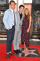 Will Arnett &amp; Jason Bateman &amp; Jennifer Aniston at the Hollywood Walk of Fame Star Ceremony honoring actor Jason Bateman. Los Angeles, USA 26 July 2017<br /> Picture: Paul Smith/Featureflash/SilverHub 0208 004 5359 sales@silverhubmedia.com