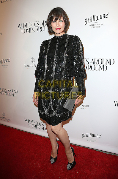 13 October 2016 - Beverly Hills, California - Milla Jovovich.   What Goes Around Comes Around (WGACA) Grand Opening held at What Goes Around Comes Around. <br /> CAP/ADM/FS<br /> &copy;FS/ADM/Capital Pictures