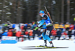 IBU World Championships Biathlon 2019 Ostersund  Women Individual event in Ostersund, Sweden on March 12, 2019; Justine Braisaz (FRA)