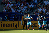 Carson, CA - September 25, 2016: The Seattle Sounders FC defeat the Los Angeles Galaxy 4-2 with Osvaldo Alonso adding a goal in a Major League Soccer (MLS) match at StubHub Center.