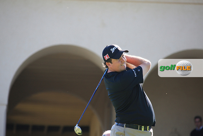 Shane Lowry (IRL) during the 3rd day at the  Andalucía Masters at Club de Golf Valderrama, Sotogrande, Spain. .Picture Fran Caffrey www.golffile.ie