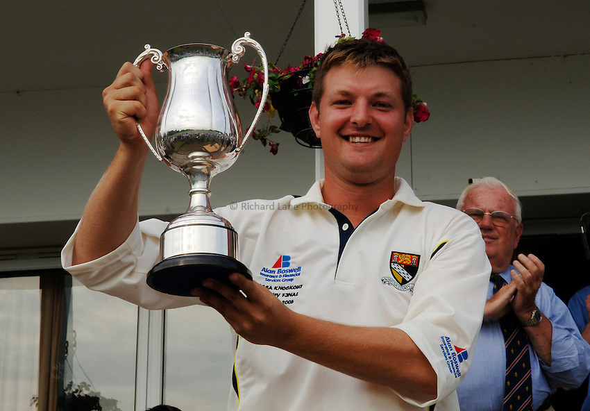 Photo: Henry Browne..Norfolk CC v Wiltshire CC. MCCA Knockout Trophy Final..31/08/2005...Paul Bradshaw.