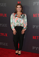 LOS ANGELES, CA - MAY 29: Justina Machado at the #NETFLIXFYSEE Comediennes: In Conversation Event at NETFLIX FYSEE Raleigh Studios in Los Angeles, California on May 29, 2018. <br /> CAP/MPI/FS<br /> &copy;FS/MPI/Capital Pictures