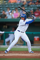 South Bend Cubs shortstop Bryant Flete (13) at bat during a game against the Burlington Bees on July 22, 2016 at Four Winds Field in South Bend, Indiana.  South Bend defeated Burlington 4-3.  (Mike Janes/Four Seam Images)