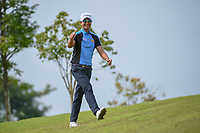Sadom KAEWKANJANA (THA) gives a thumbs up as he approaches the tee on 6 during Rd 3 of the Asia-Pacific Amateur Championship, Sentosa Golf Club, Singapore. 10/6/2018.<br /> Picture: Golffile | Ken Murray<br /> <br /> <br /> All photo usage must carry mandatory copyright credit (© Golffile | Ken Murray)