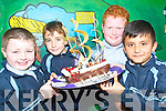 Pirate cake: Testing out the waters at the school fair in St Mary's Boys School Abbeyfeale on Friday were Ivan Boyle, Conor Kelbridge, Keith Kelliher and Mozaam Ali.   Copyright Kerry's Eye 2008