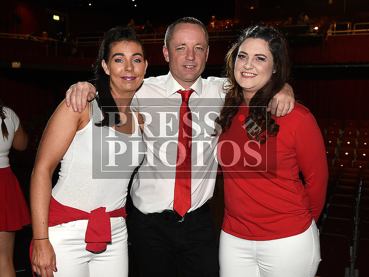 Sinead Leech, Terry Kevitt and Grace Rogers who took part in the Strictly Come Dancing in aid of SOSAD. Photo:Colin Bell/pressphotos.ie