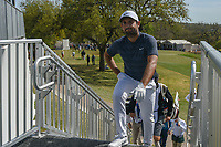 Alexander Levy (FRA) approaches the 7th tee during round 1 of the World Golf Championships, Dell Match Play, Austin Country Club, Austin, Texas. 3/21/2018.<br /> Picture: Golffile | Ken Murray<br /> <br /> <br /> All photo usage must carry mandatory copyright credit (&copy; Golffile | Ken Murray)