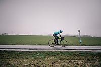 Magnus Cort Nielsen (DEN/Astana)<br /> <br /> 73rd Dwars Door Vlaanderen 2018 (1.UWT)<br /> Roeselare - Waregem (BEL): 180km