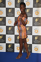 Michaela Coel<br /> arriving for the RTS Awards 2019 at the Grosvenor House Hotel, London<br /> <br /> ©Ash Knotek  D3489  19/03/2019
