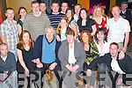 60TH: Having a great night at their joint 60th birthday in McElligotts Bar, Ardfert, on Saturday evening were Hanna-May and Donal Leen of Ardfert (seated front centre) along with family and friends..