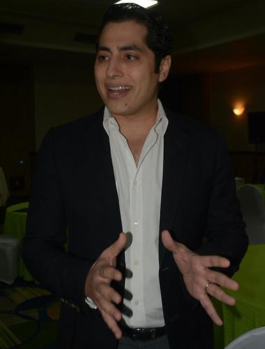 Goerge Alexander Nader, presidente de la Cámara Forestal Dominicana.