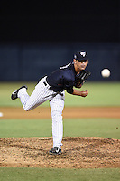 Tampa Yankees pitcher Chad Taylor (33) delivers a pitch during a game against the Daytona Tortugas on April 24, 2015 at George M. Steinbrenner Field in Tampa, Florida.  Tampa defeated Daytona 12-7.  (Mike Janes/Four Seam Images)